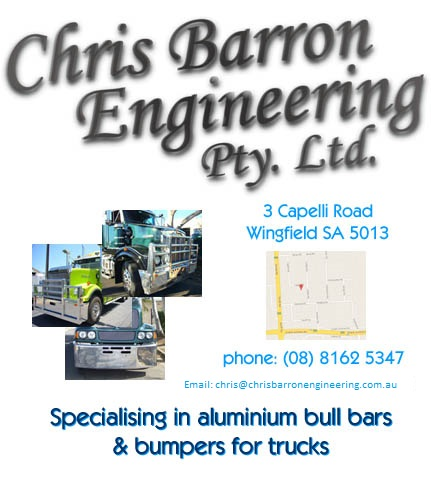 Home page of Chris Barron Engineering
